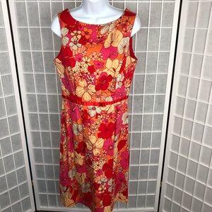 Ombré Womens Sleeveless Dress Size 12
